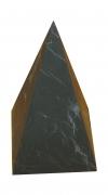 Пирамида неполированная высокая 9х9см