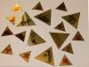 Пирамида с шильдой 5х5см